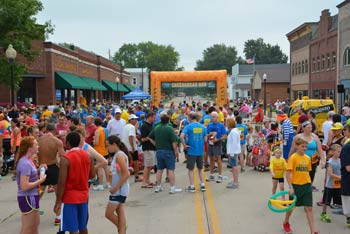 Cheesehead Run About Race
