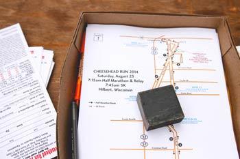 Cheesehead Run Packet Pickup Info