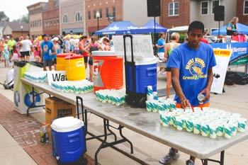Cheesehead Run Water Stations